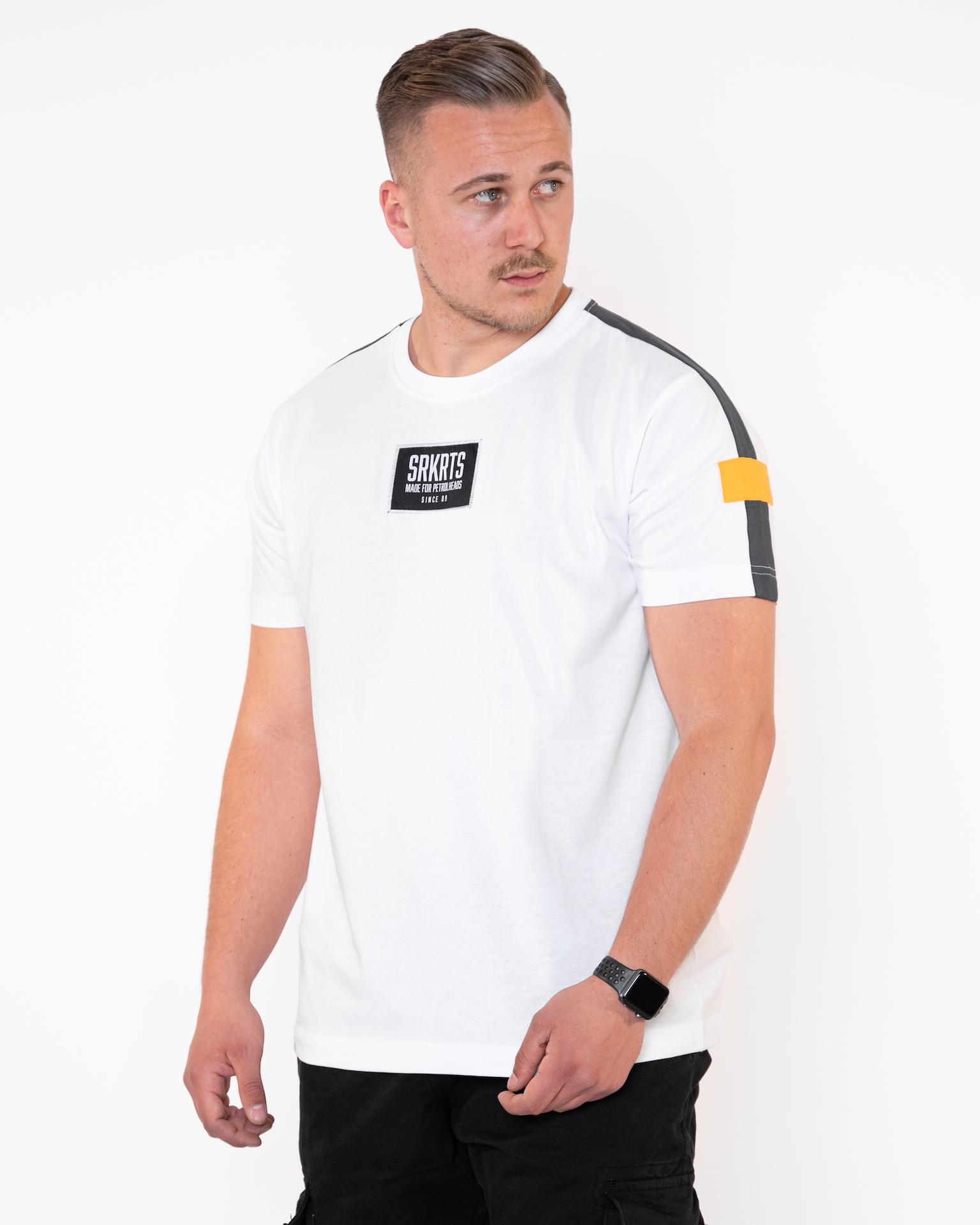 T-Shirt | Julian | Weiss