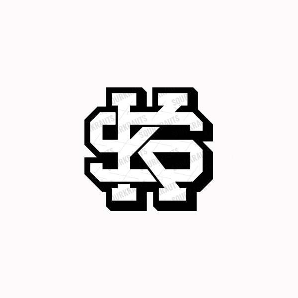 Aufkleber SKC   Schwarz