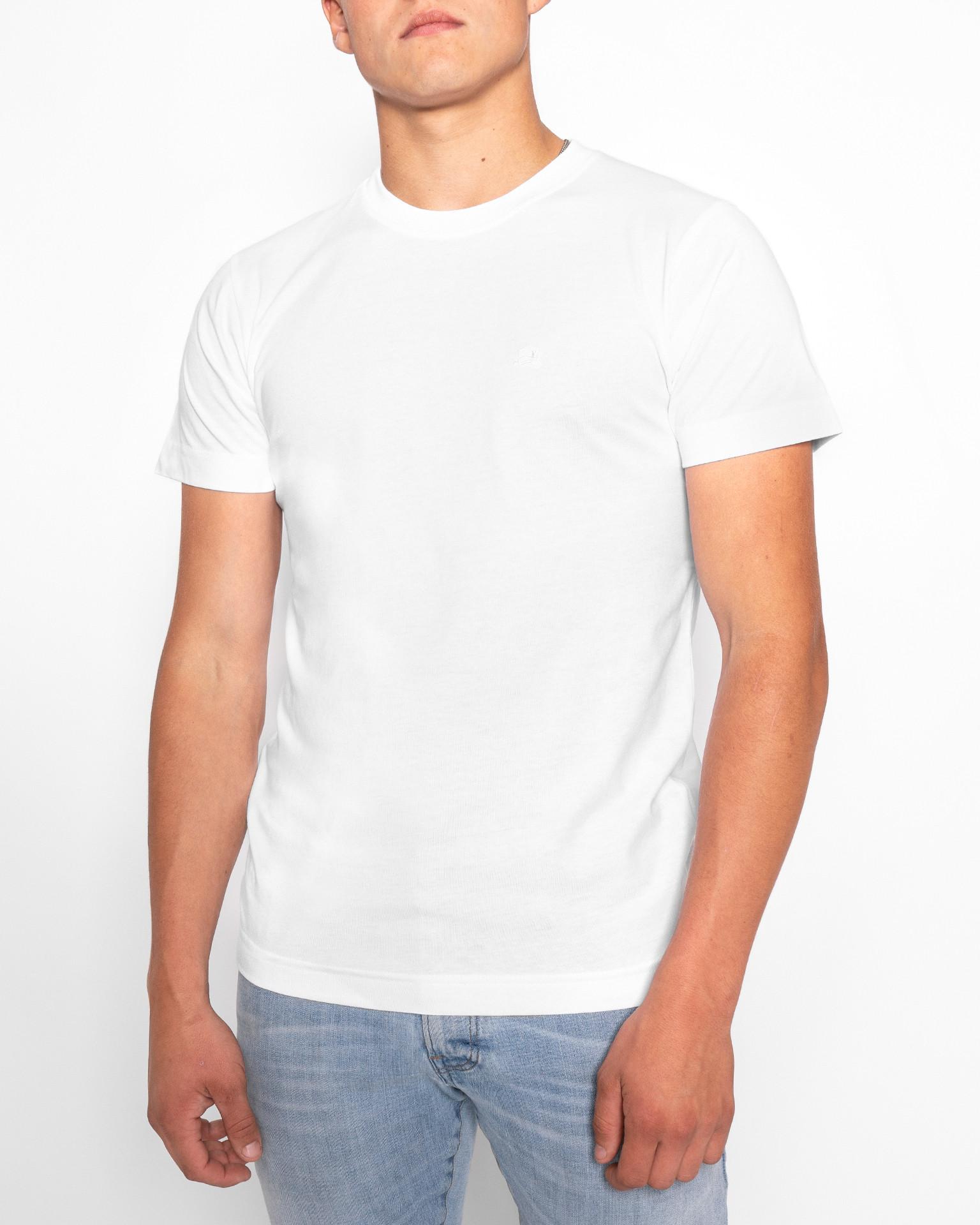 T-Shirt | Basic Regular | Weiss