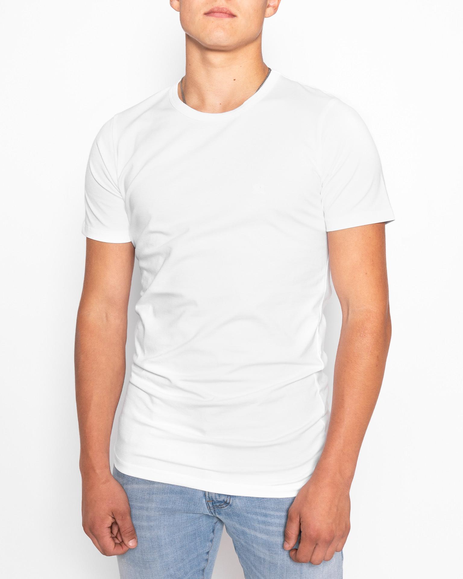 T-Shirt | Basic Slim | Weiss