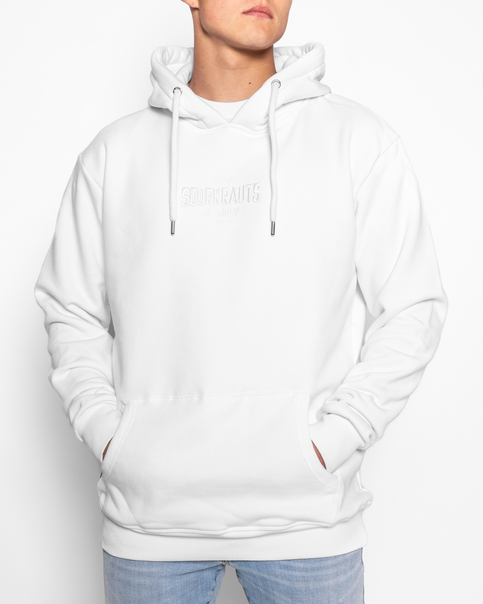 Hoody   One Color   Weiss