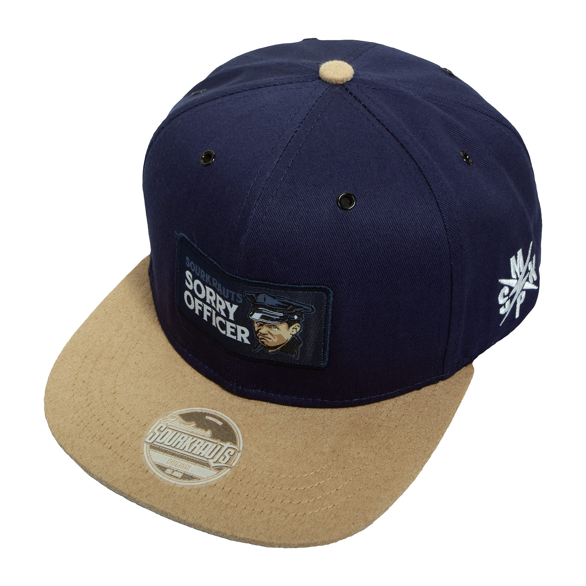 Snapback | Sorry Officer | Blau