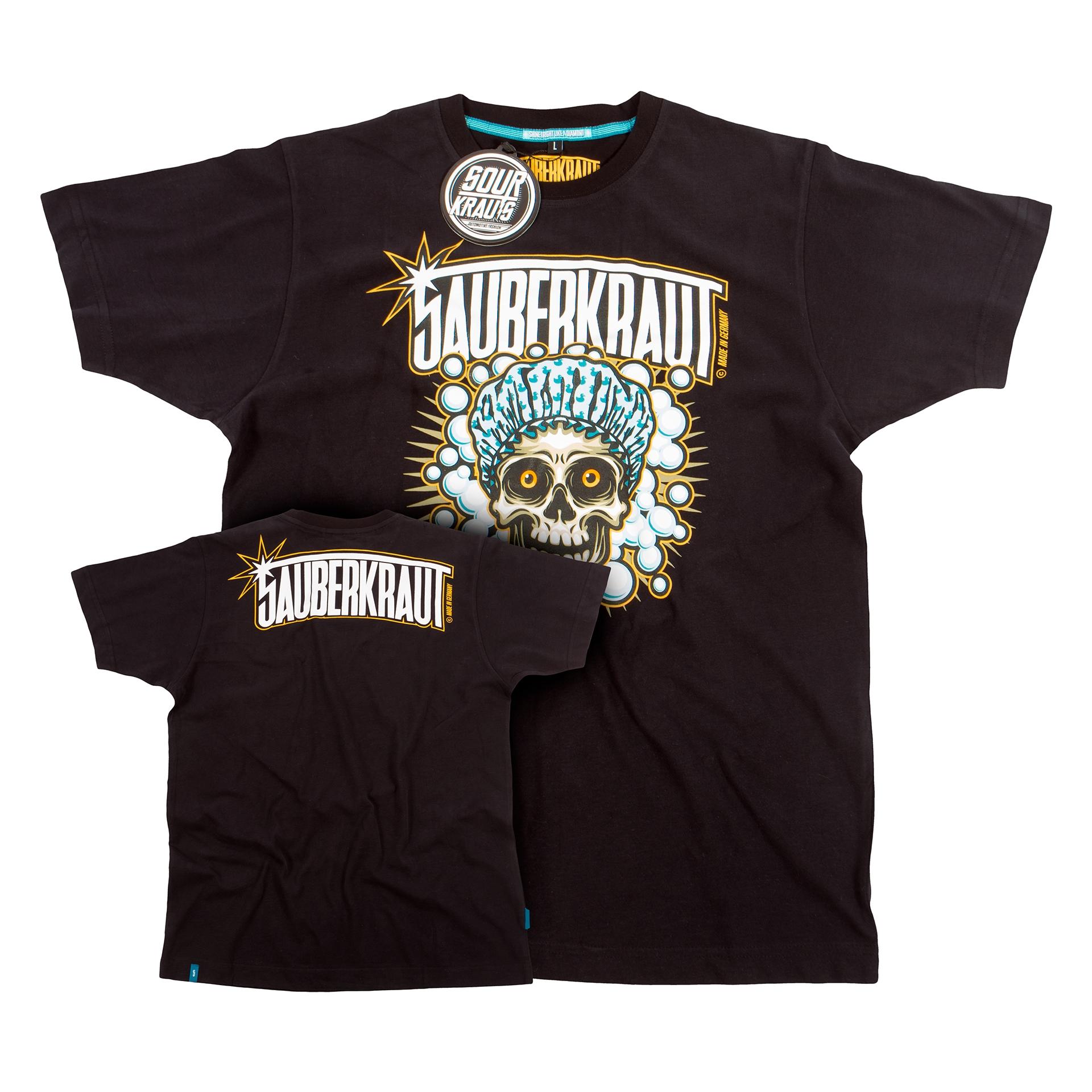 T-Shirt Sauberkraut Schwarz