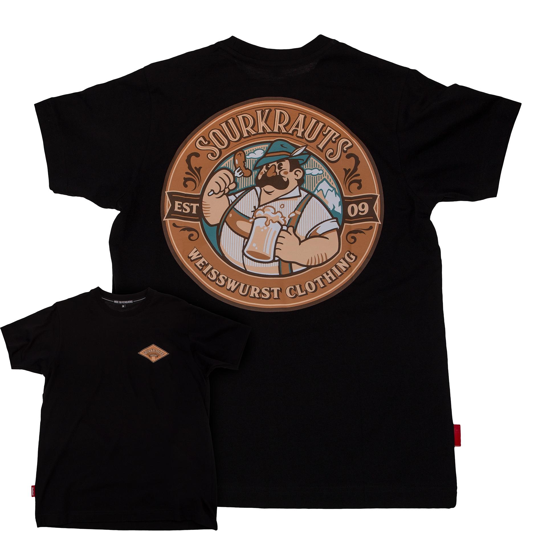 T-Shirt | SEPP | Schwarz